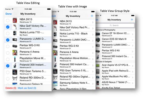 expandable tableview swift tableview ios ios table view intersoft crosslight intersoft