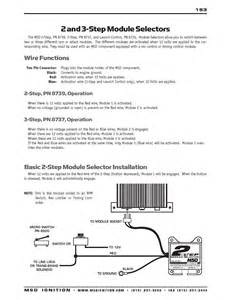 3 step msd ignition wiring diagrams get free image about