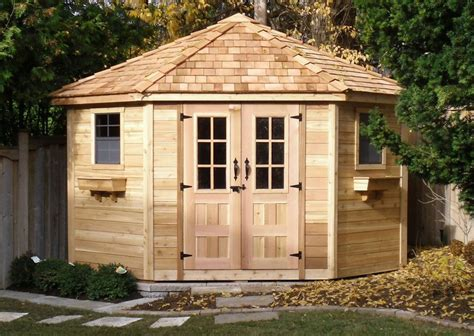 Garden Sheds Outdoor Living Today 9x9 Five Sided Shed Pen99 On Sale Now