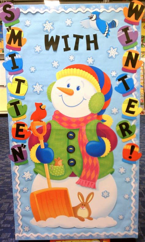 educational themes for january would be cute for winter students could make and decorate