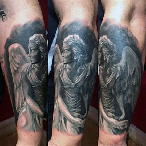 guardian angel tattoos for men pictures 100 guardian tattoos for spiritual ink designs