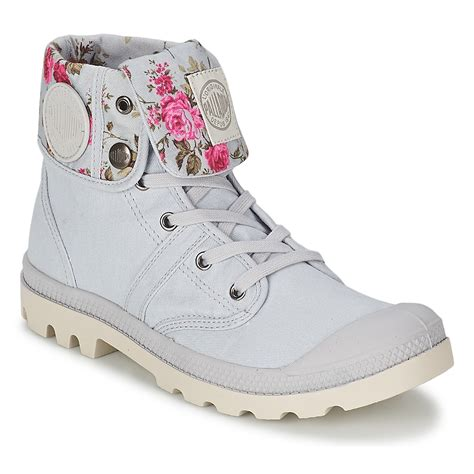 palladium color palladium ankle boots boots baggy grey flowers