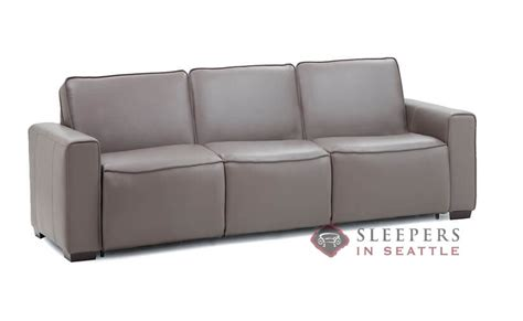 palliser my comfort customize and personalize lullaby queen leather sofa by