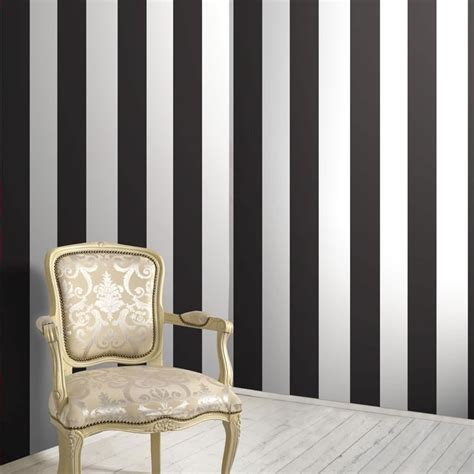 black and white striped wallpaper uk henley stripe black white wallpaper bloomsbury
