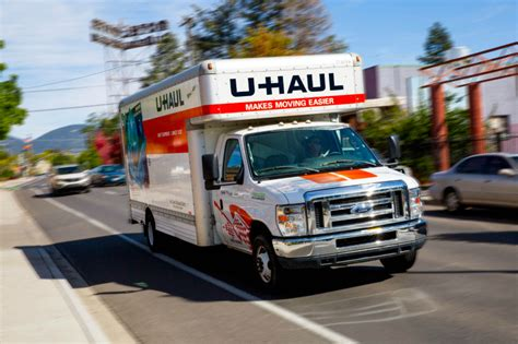u haul at home market storage now offers u haul truck