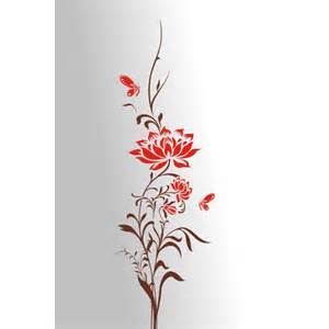 Wall Stickers Butterflies And Flowers Decorative Stickers Flower And Butterfly Wall Stickers