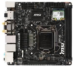 Msi Z97i Ac z97 mini itx review at 140 asrock msi and gigabyte