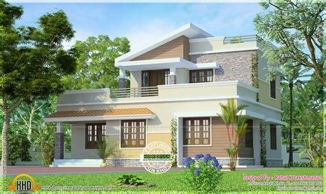 192 square foot home for two small house living tour in 1516 square feet small two storied house home kerala plans