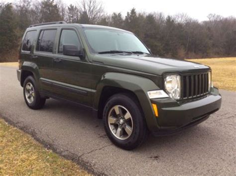 Manual Transmission Jeep Liberty Buy Used 2008 Jeep Liberty 6 Speed Manual