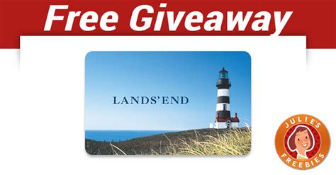 Lands End Gift Cards - free lands end gift card giveaway julie s freebies