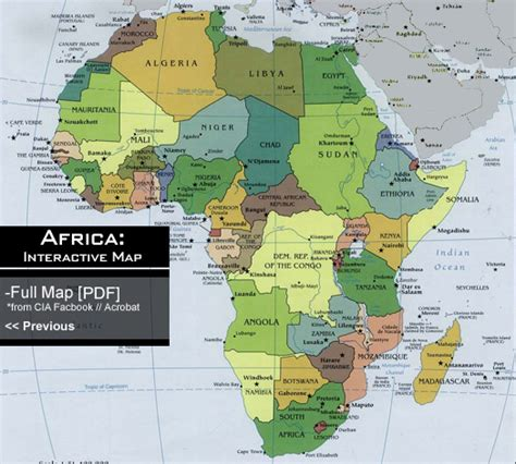 africa map interactive interactive political map africa