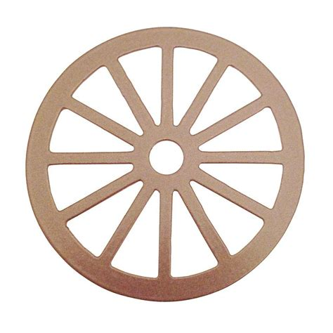 glide 3 1 8 in dia wagon wheel decorative satin