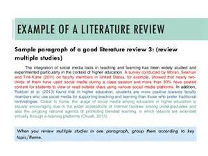 Review Of Related Literature Sle For Student Information System by Writing A Literature Review A Guide
