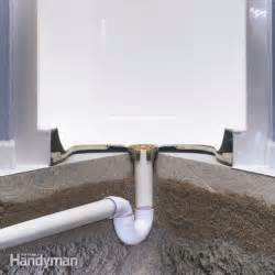 how to install a fiberglass base concrete the