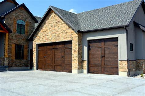 custom steel carriage door utah garage door outlet