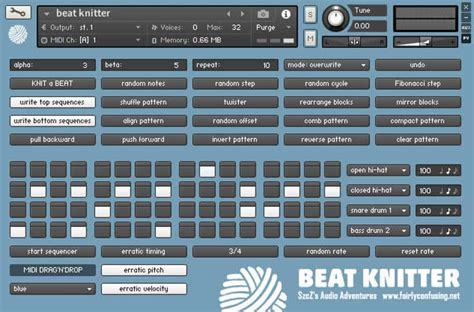 drum pattern creator free random drum pattern generator for kontakt by szcz