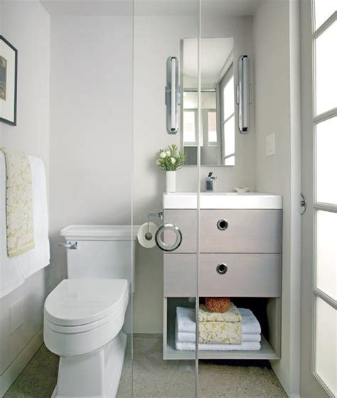 Ideas For Renovating Small Bathrooms | 25 small bathroom remodeling ideas creating modern rooms