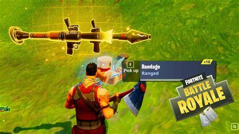 fortnite launcher legendary rocket launcher legendary scar easy win