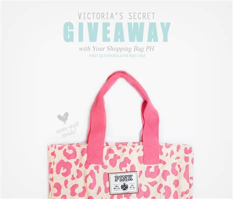 Giveaway Bag - shades of purpleness your shopping bag victoria s