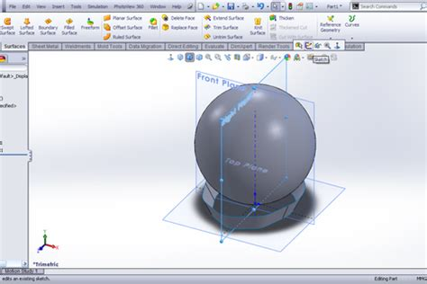solidworks tutorial helmet tutorial modeling helmet in solidworks grabcad