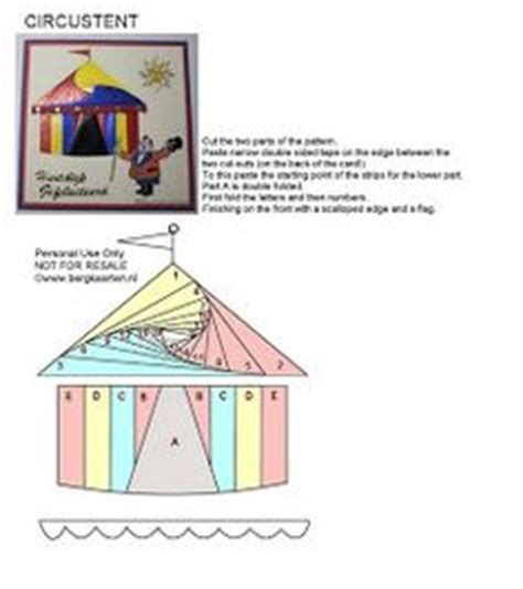 Origami Circus Tent - 1000 images about cre8tive iris folding more on