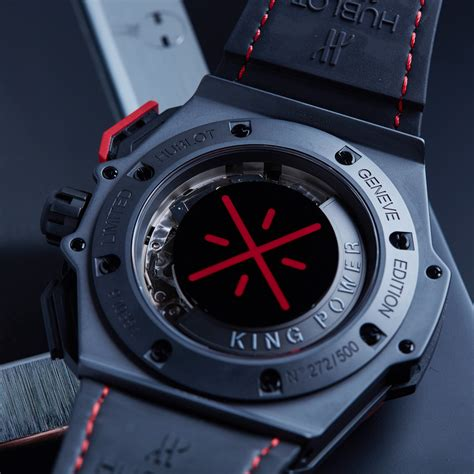 Hublot Spider King Power Leather 3 Colours hublot king power dwyane wade edition automatic 703 ci 1123 vr dwd11 new the vault sale