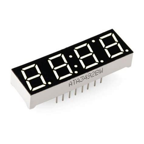 digit  segment display white   sparkfun