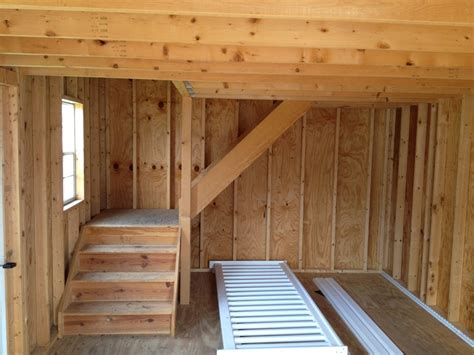 portable  story shed steps byler barns