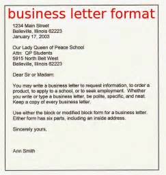 Kinds Business Letter Samples business letter sample business letter format example business