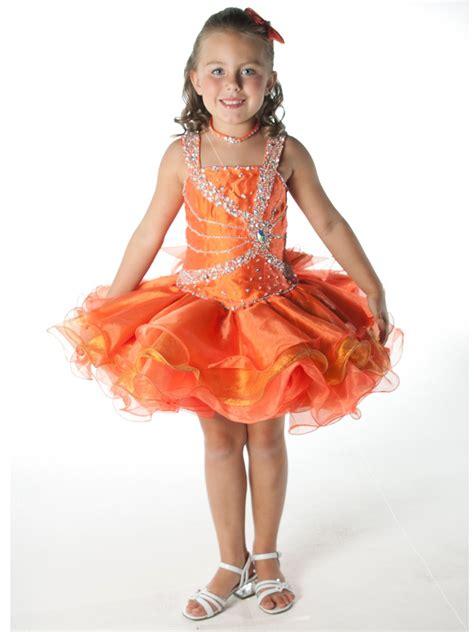 Syafira Dress Size 2 2013 sale orange princess pageant dress pageant dressgirl dress size 2 4 6 8 10 12