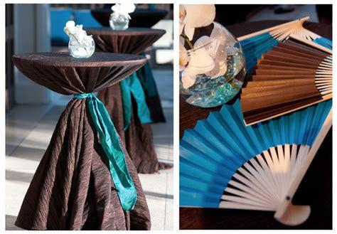 brown and turquoise wedding decor wedding pinterest