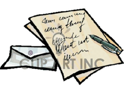 business letter clipart business letter clipart clipartxtras