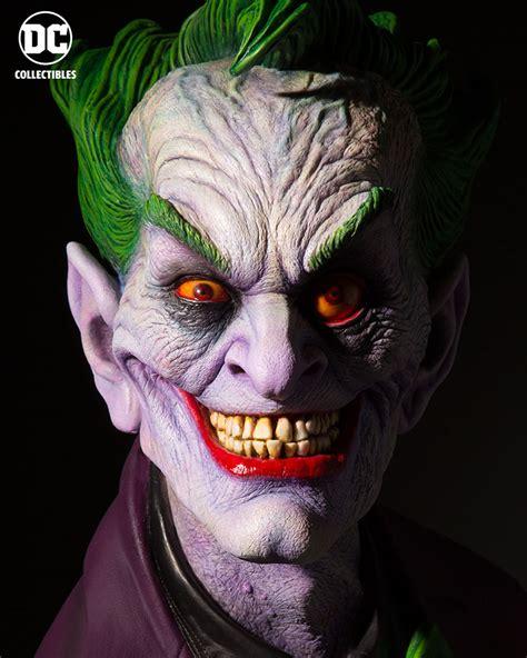 Dc Joker New 001 rick baker designed size joker bust by dc