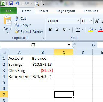 format excel negative numbers brackets how to put parentheses around negative numbers in excel