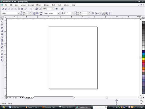 layout menu in coreldraw computer stuff corel draw