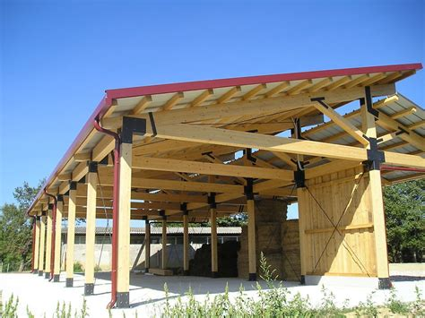 costruzione capannoni in ferro capannone in legno vantaggi e caratteristiche habitissimo