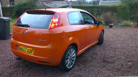 Fiat Means Grande Punto My Tangerine The Fiat Forum