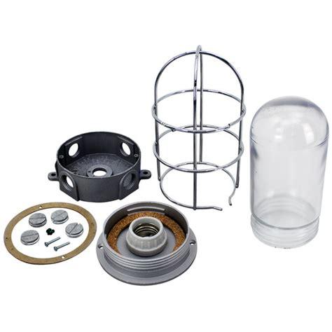 Junction Box Light Fixture Littlefuse E250 Equivalent Junction Box Light Fixture Plastic Coated Glass Globe Wire Guard