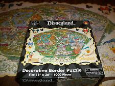 disneyland decorative border puzzle map disneyland puzzle ebay