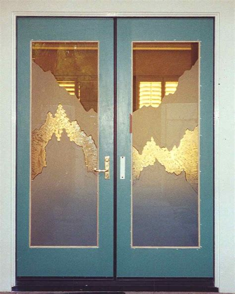 Glass Insert For Door by Jagged Edges Glass Door Inserts Sans Soucie