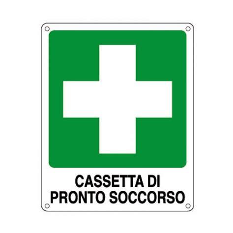 simbolo cassetta pronto soccorso cartello allum 25x31 cassetta pronto soccorso in