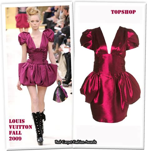 Storis Designer Diffusion Collection With Topshop by Louis Vuitton Vs Topshop Carpet Fashion Awards