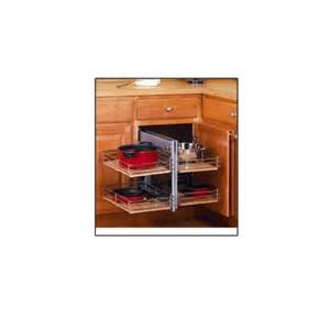 Blind Corner Cabinet Pull Out Richelieu Bbctr15 Blind Corner Base Cabinet Pull Out