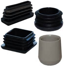 patio furniture leg caps plastic square oval and rectangle glides