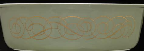 kb pattern works llc wisconsin green scroll pyrex