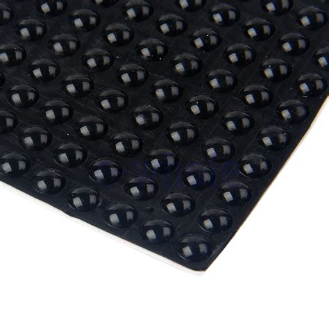 Silicone Rubber Karet Silikon Sheet 5mm 30 X 100 Cm 200pcs black silicone self adhesive rubber semicircle bumpers buffer pad gl