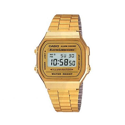 Casio Gold gold stainless steel casio unisex buy gold