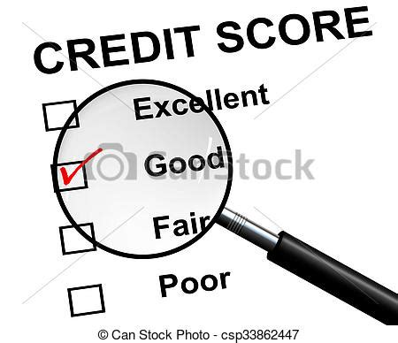 doodle free credit report an illustration of credit score a magnifying