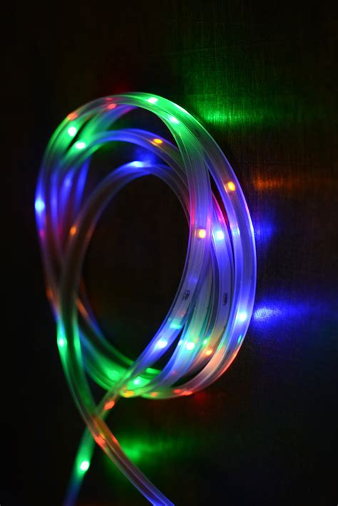 Led Light Strip Multicolor 18ft 108ct Led Light