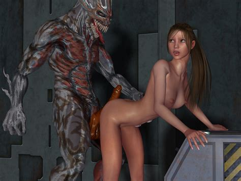 elf fucked by monster and wants it deeper
